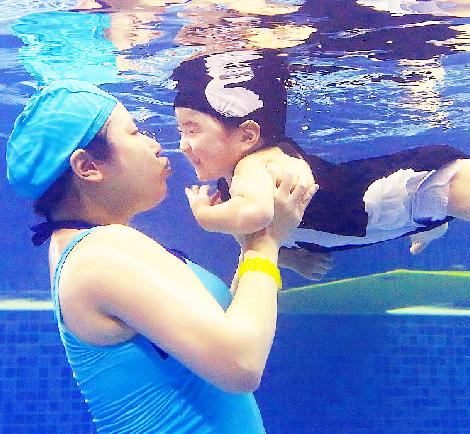 酷游亲子儿童游泳